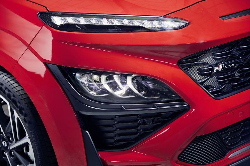 Hyundai Kona facelift revealed – now with N Line trim; enhanced powertrains, driver assist, connectivity Image #1169834
