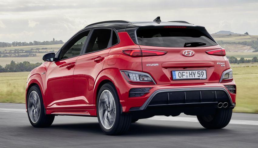 Hyundai Kona facelift revealed – now with N Line trim; enhanced powertrains, driver assist, connectivity Image #1169819