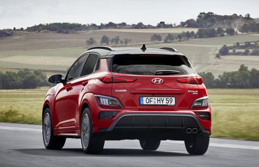 Hyundai Kona facelift revealed – now with N Line trim; enhanced powertrains, driver assist, connectivity Image #1169820