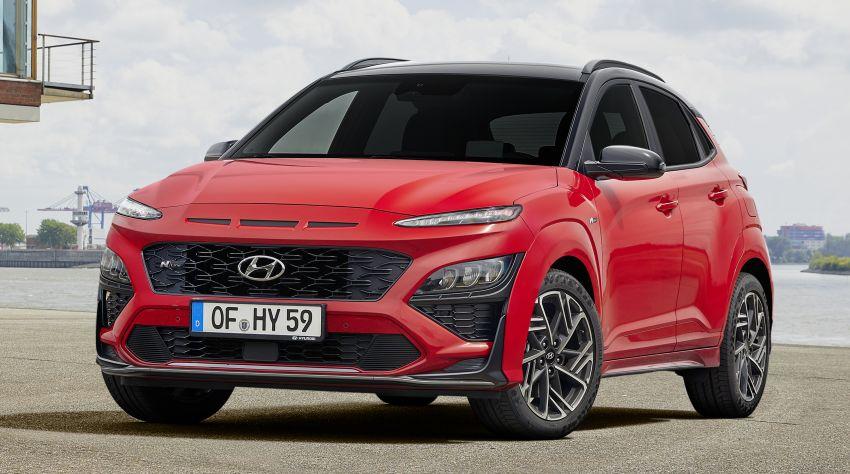 Hyundai Kona facelift revealed – now with N Line trim; enhanced powertrains, driver assist, connectivity Image #1169821