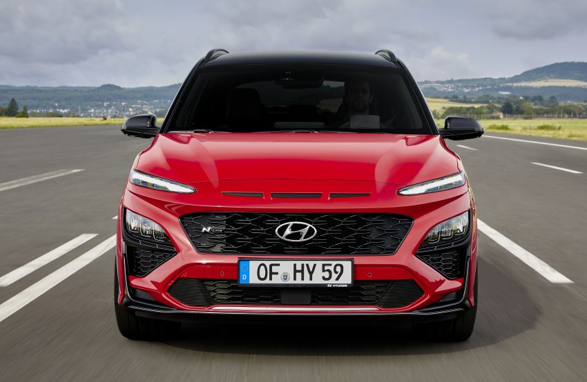 Hyundai Kona facelift revealed – now with N Line trim; enhanced powertrains, driver assist, connectivity Image #1169822