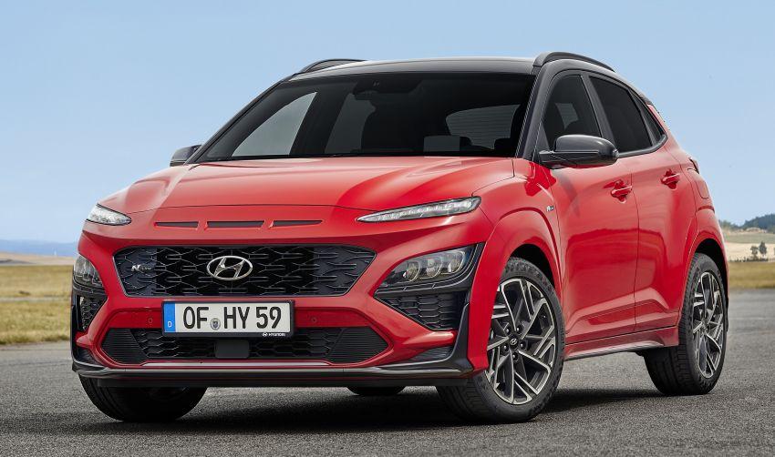 Hyundai Kona facelift revealed – now with N Line trim; enhanced powertrains, driver assist, connectivity Image #1169823