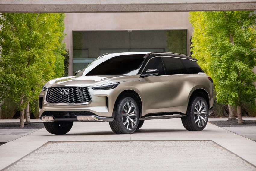 Infiniti QX60 Monograph previews next-gen model Image #1184542
