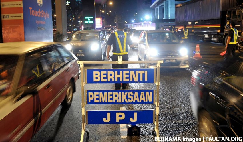 JPJ Selangor issues 168 compounds for offences in Shah Alam – HID lights, dark tints and fancy plates Image #1170757