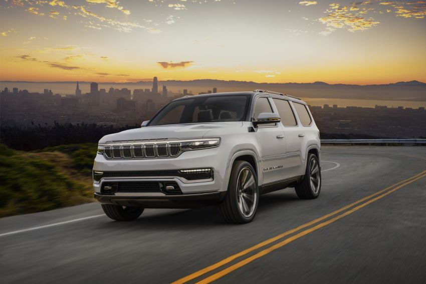Jeep Grand Wagoneer Concept previews new premium SUV lineup – plug-in hybrid power, production in 2021 Image #1172419