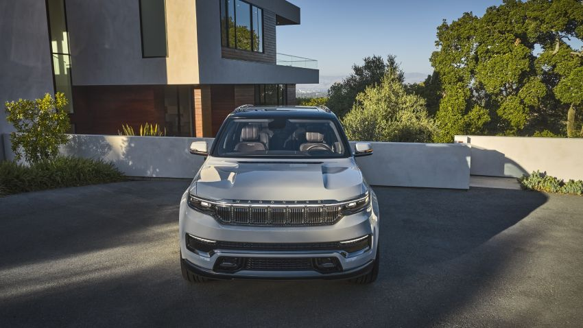 Jeep Grand Wagoneer Concept previews new premium SUV lineup – plug-in hybrid power, production in 2021 Image #1172429