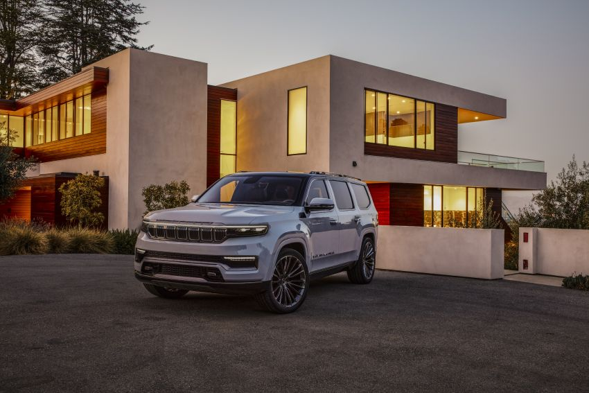 Jeep Grand Wagoneer Concept previews new premium SUV lineup – plug-in hybrid power, production in 2021 Image #1172431