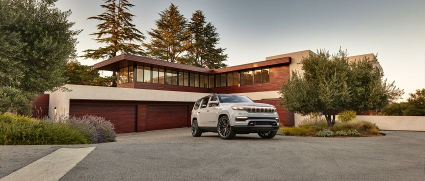 Jeep Grand Wagoneer Concept previews new premium SUV lineup – plug-in hybrid power, production in 2021 Image #1172436