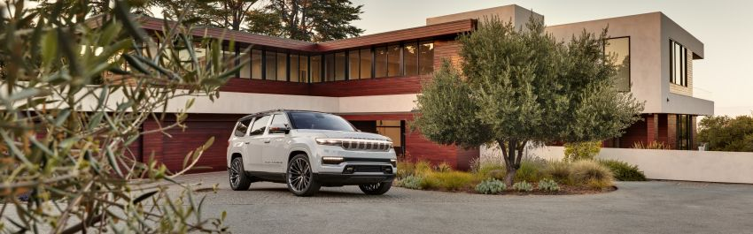 Jeep Grand Wagoneer Concept previews new premium SUV lineup – plug-in hybrid power, production in 2021 Image #1172438