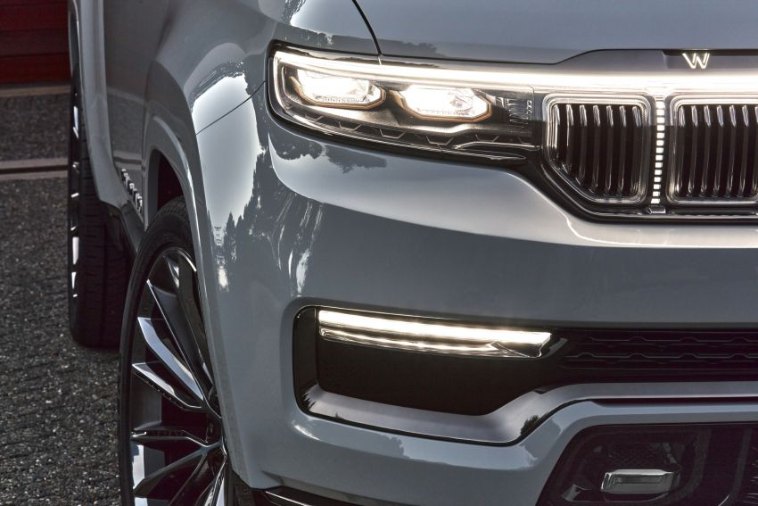 Jeep Grand Wagoneer Concept previews new premium SUV lineup – plug-in hybrid power, production in 2021 Image #1172457