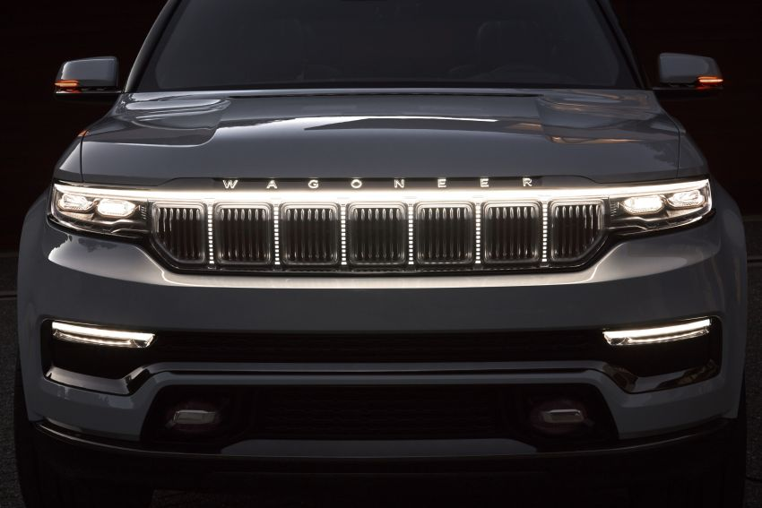 Jeep Grand Wagoneer Concept previews new premium SUV lineup – plug-in hybrid power, production in 2021 Image #1172458