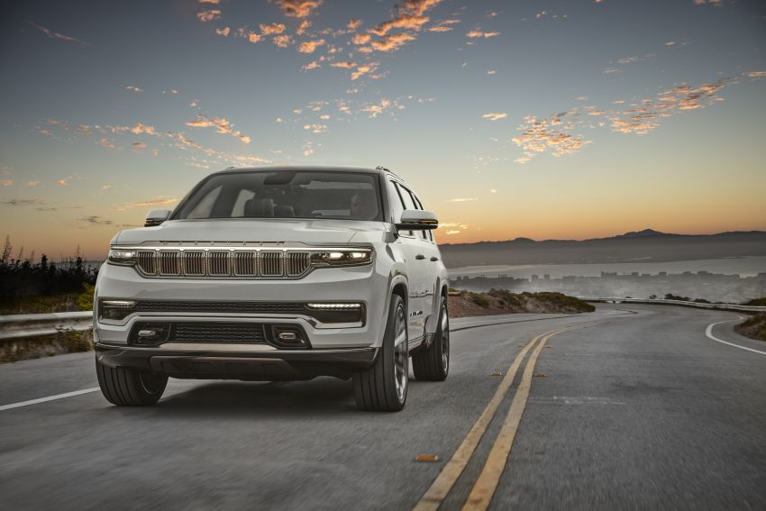 Jeep Grand Wagoneer Concept previews new premium SUV lineup – plug-in hybrid power, production in 2021 Image #1172422