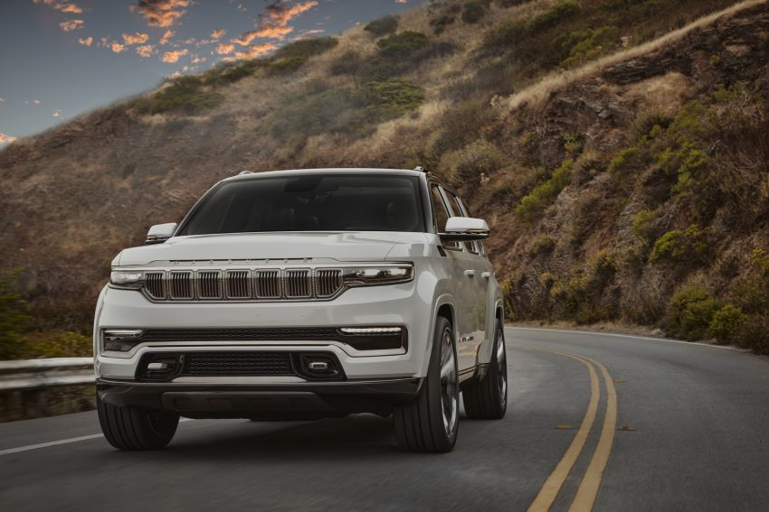 Jeep Grand Wagoneer Concept previews new premium SUV lineup – plug-in hybrid power, production in 2021 Image #1172423