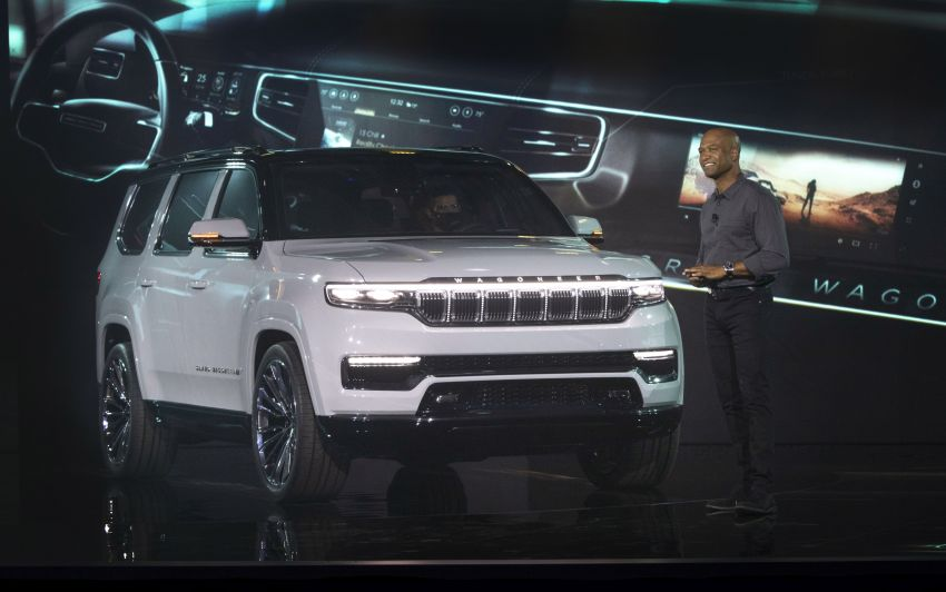 Jeep Grand Wagoneer Concept previews new premium SUV lineup – plug-in hybrid power, production in 2021 Image #1172480
