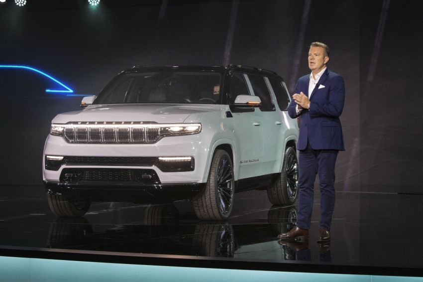 Jeep Grand Wagoneer Concept previews new premium SUV lineup – plug-in hybrid power, production in 2021 Image #1172481