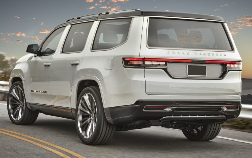 Jeep Grand Wagoneer Concept previews new premium SUV lineup – plug-in hybrid power, production in 2021 Image #1172424