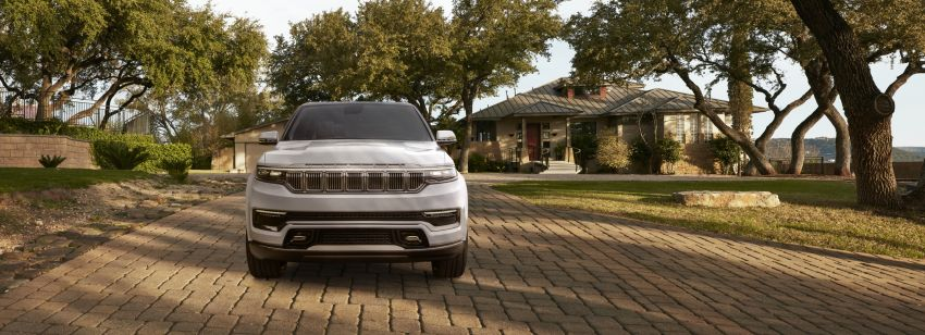 Jeep Grand Wagoneer Concept previews new premium SUV lineup – plug-in hybrid power, production in 2021 Image #1172426