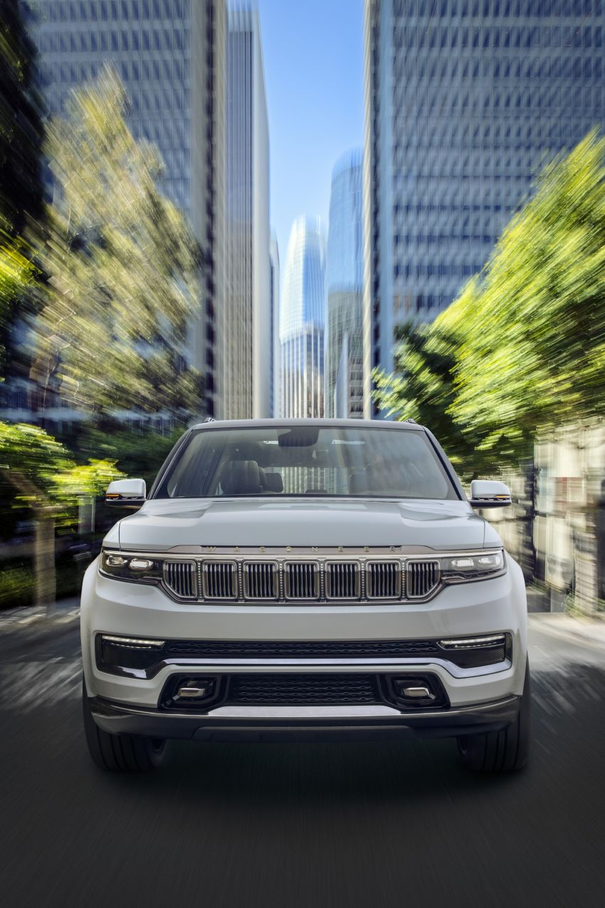 Jeep Grand Wagoneer Concept previews new premium SUV lineup – plug-in hybrid power, production in 2021 Image #1172427