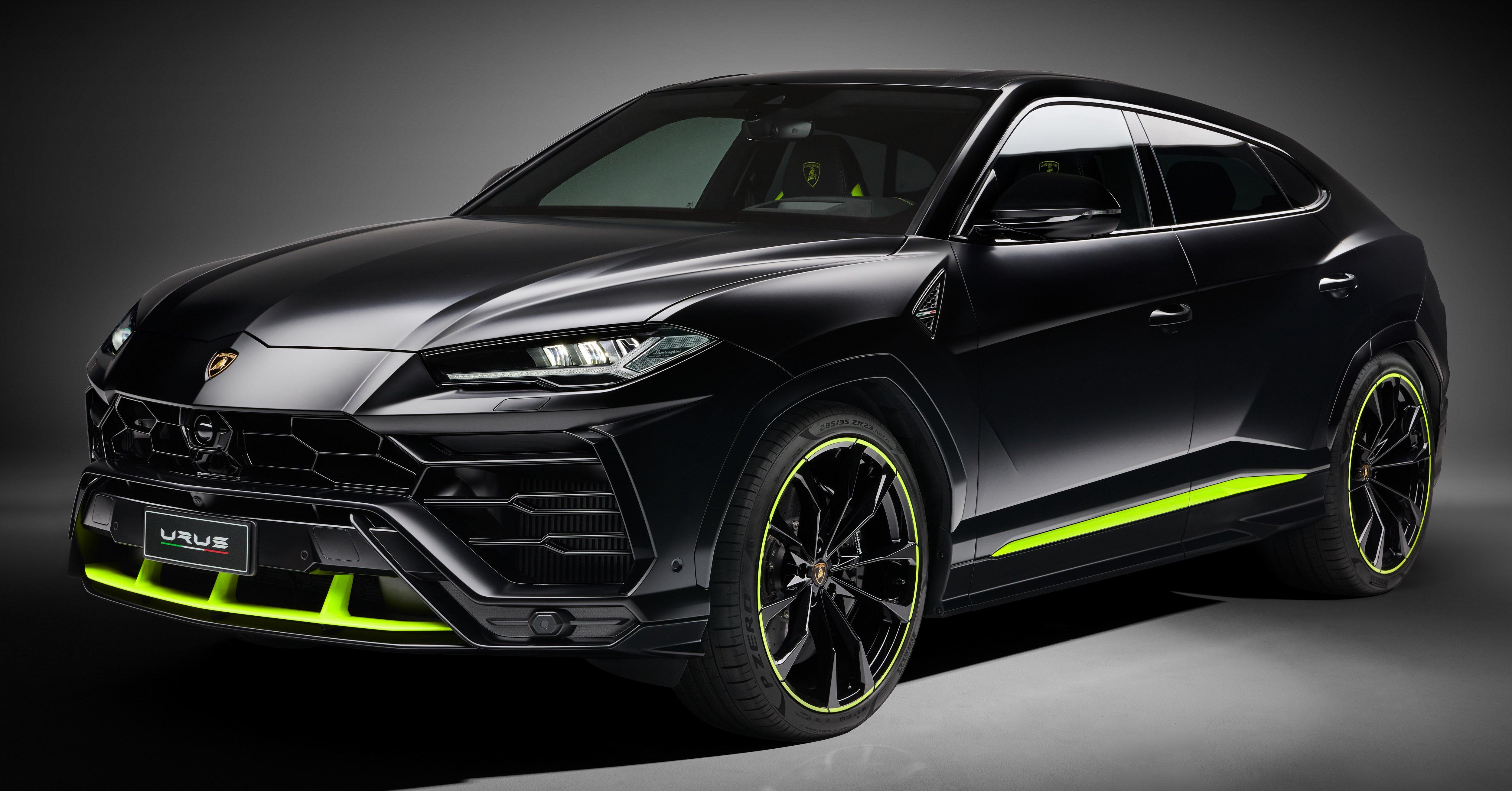 2021 Lamborghini Urus Graphite Capsule Revealed Paultan Org
