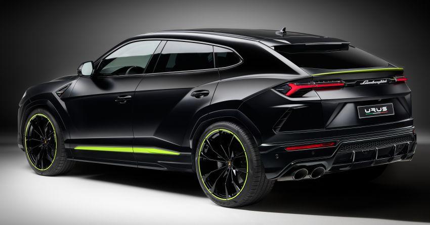 2021 Lamborghini Urus Graphite Capsule revealed Image #1185317