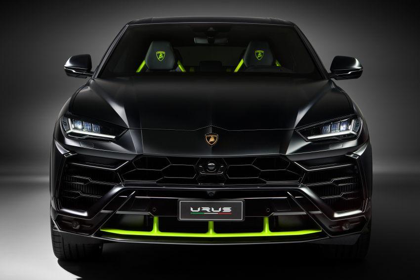 2021 Lamborghini Urus Graphite Capsule revealed Image #1185318