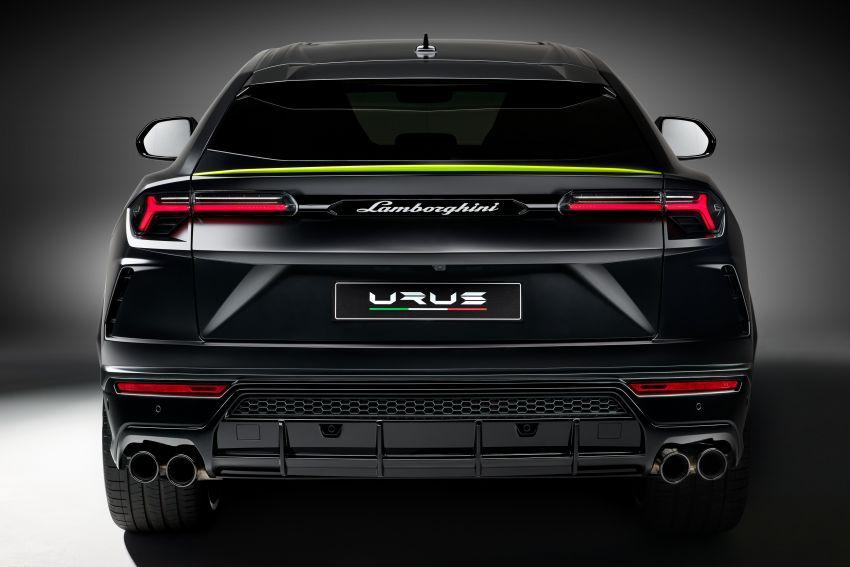 2021 Lamborghini Urus Graphite Capsule revealed Image #1185319