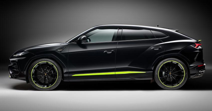 2021 Lamborghini Urus Graphite Capsule revealed Image #1185320