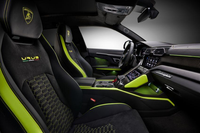 2021 Lamborghini Urus Graphite Capsule revealed Image #1185322