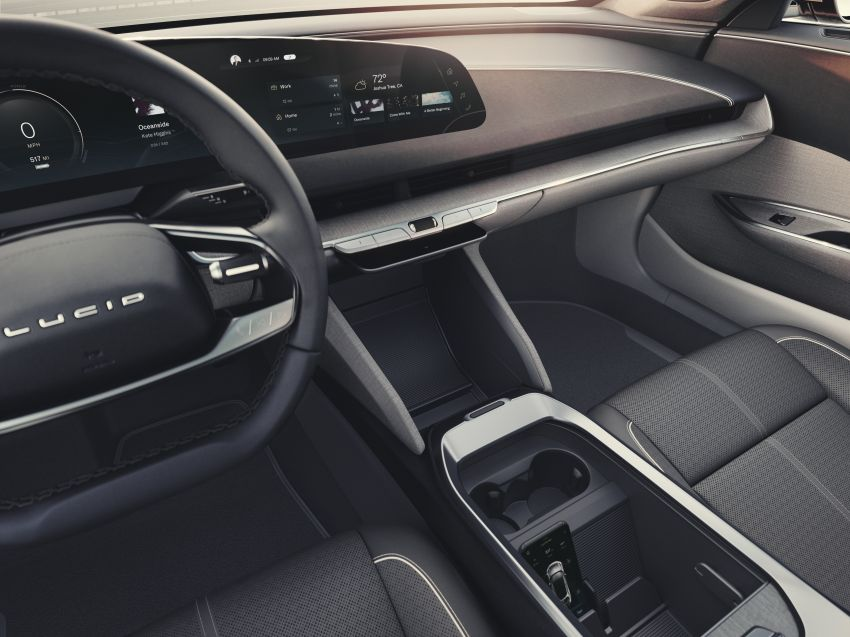Lucid Air – production electric sedan debuts with up to 1,080 hp, 0-60 mph in 2.5 secs, 832 km of range Image #1174511