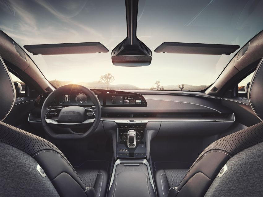 Lucid Air – production electric sedan debuts with up to 1,080 hp, 0-60 mph in 2.5 secs, 832 km of range Image #1174512