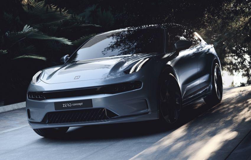 Lynk & Co Zero Concept previews new coupe-SUV EV Image #1182162
