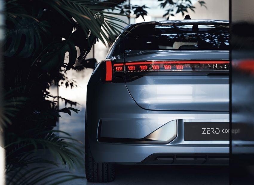 Lynk & Co Zero Concept previews new coupe-SUV EV Image #1182169