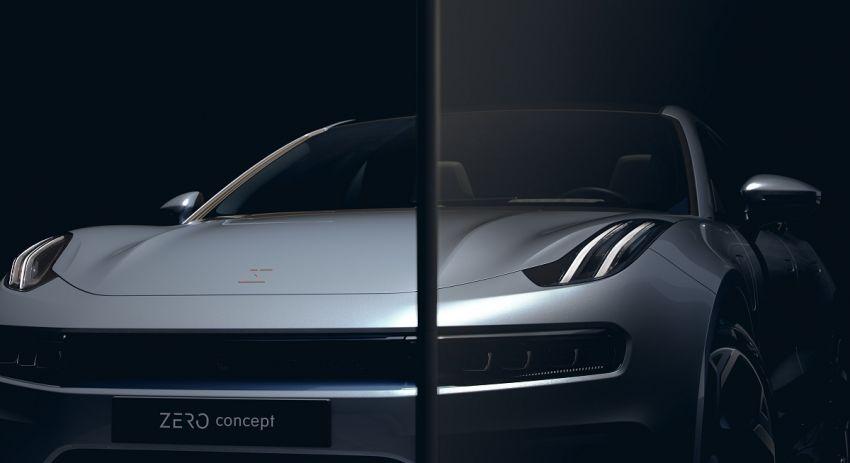 Lynk & Co Zero Concept previews new coupe-SUV EV Image #1182167