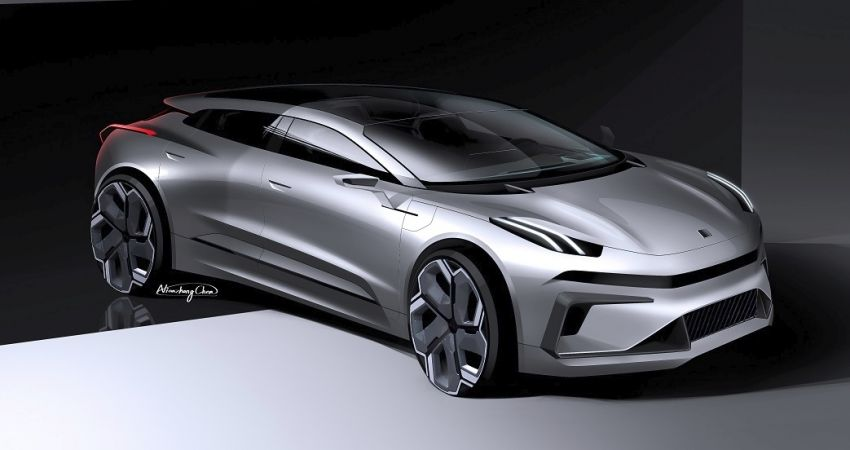 Lynk & Co Zero Concept previews new coupe-SUV EV Image #1182152