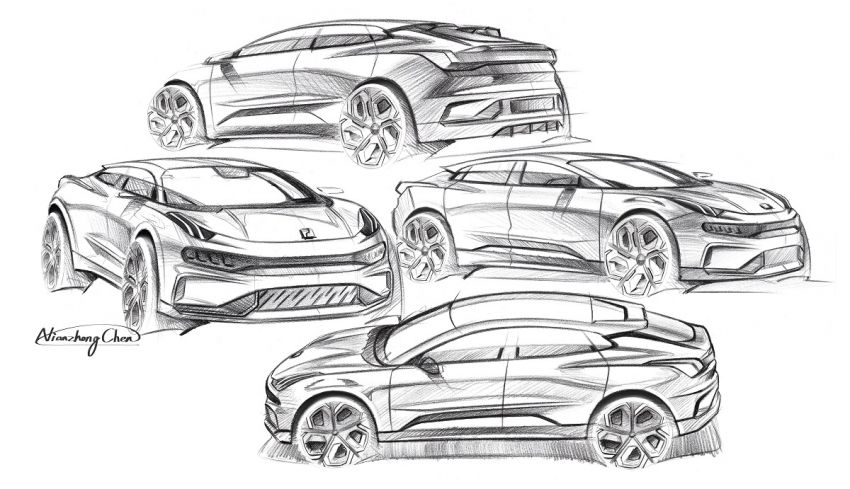 Lynk & Co Zero Concept previews new coupe-SUV EV Image #1182157