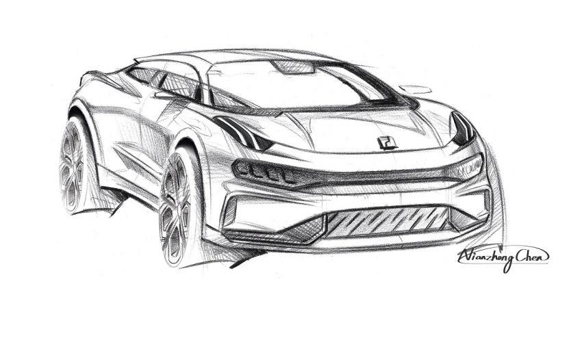 Lynk & Co Zero Concept previews new coupe-SUV EV Image #1182159