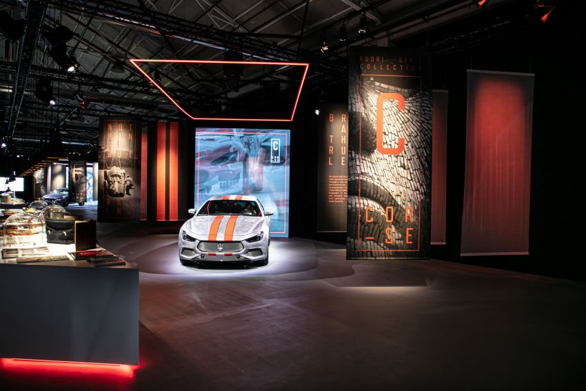 Maserati launches Fuoriserie programme with special versions of the Ghibli, Levante and Quattroporte Image #1175823