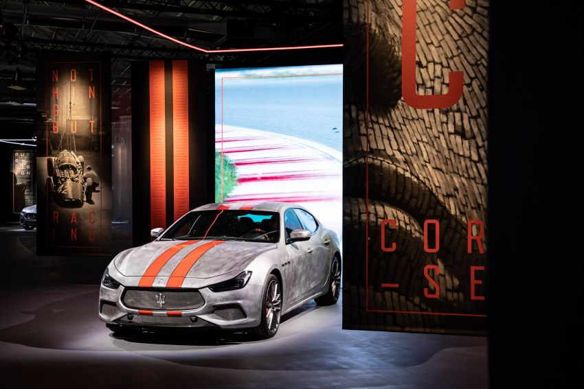 Maserati launches Fuoriserie programme with special versions of the Ghibli, Levante and Quattroporte Image #1175825