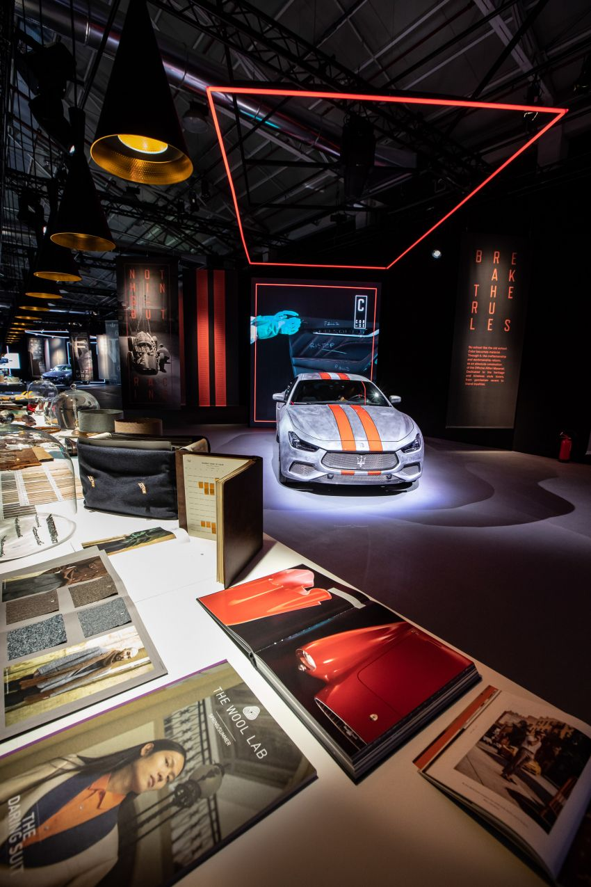 Maserati launches Fuoriserie programme with special versions of the Ghibli, Levante and Quattroporte Image #1175829