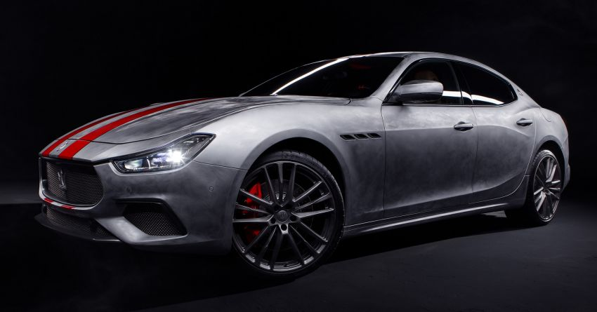 Maserati launches Fuoriserie programme with special versions of the Ghibli, Levante and Quattroporte Image #1175859