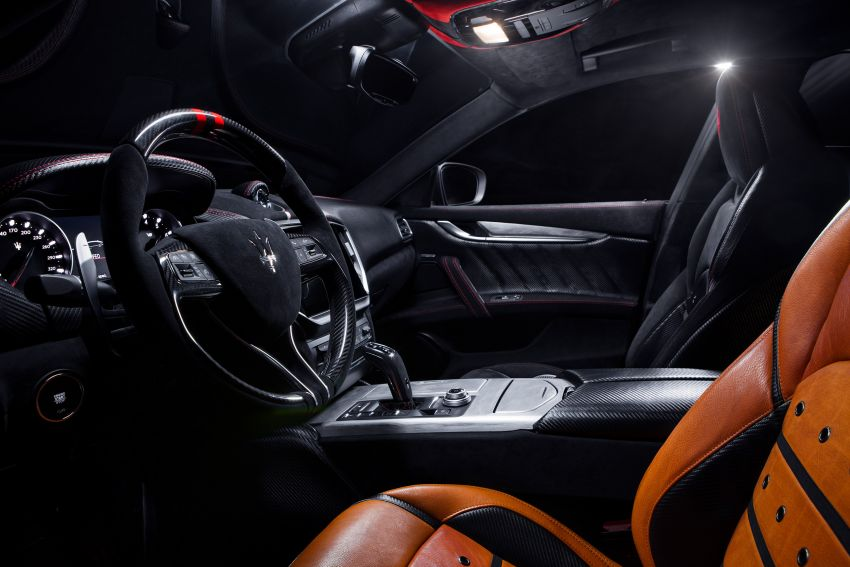 Maserati launches Fuoriserie programme with special versions of the Ghibli, Levante and Quattroporte Image #1175881