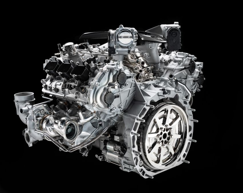 Maserati MC20 – bentuk ditunjuk, enjin V6 3.0L 630 PS Image #1169291