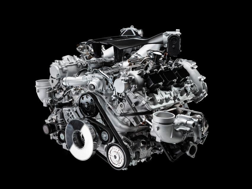 Maserati MC20 – bentuk ditunjuk, enjin V6 3.0L 630 PS Image #1169290