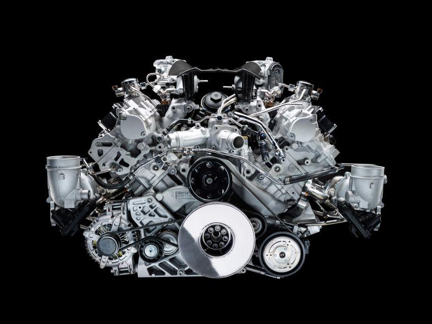 Maserati MC20 – bentuk ditunjuk, enjin V6 3.0L 630 PS Image #1169289