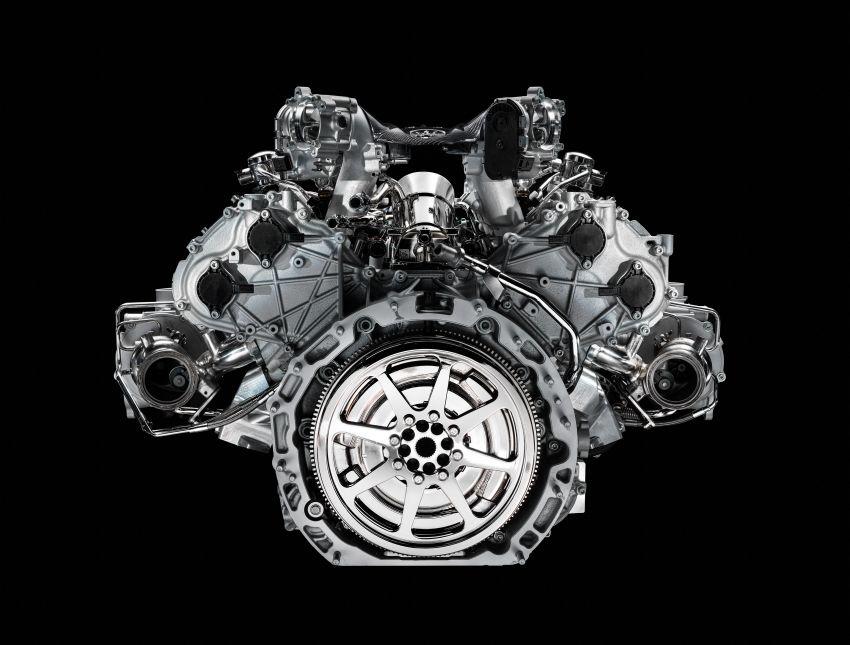 Maserati MC20 – bentuk ditunjuk, enjin V6 3.0L 630 PS Image #1169286
