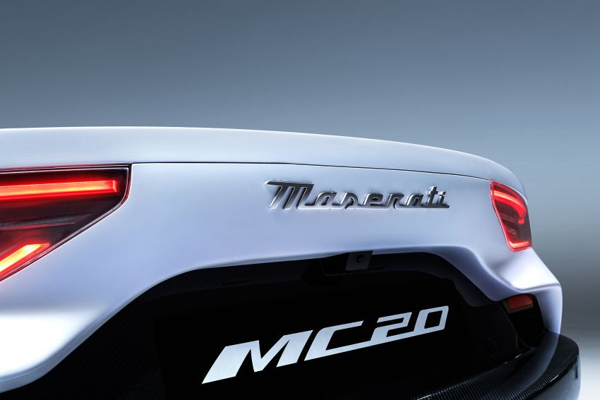 Maserati MC20 officially debuts – 3L twin-turbo V6 with 630 PS and 730 Nm; 0-100 km/h in under 2.9 seconds Image #1173932