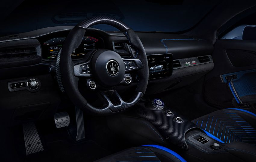 Maserati MC20 officially debuts – 3L twin-turbo V6 with 630 PS and 730 Nm; 0-100 km/h in under 2.9 seconds Image #1173936
