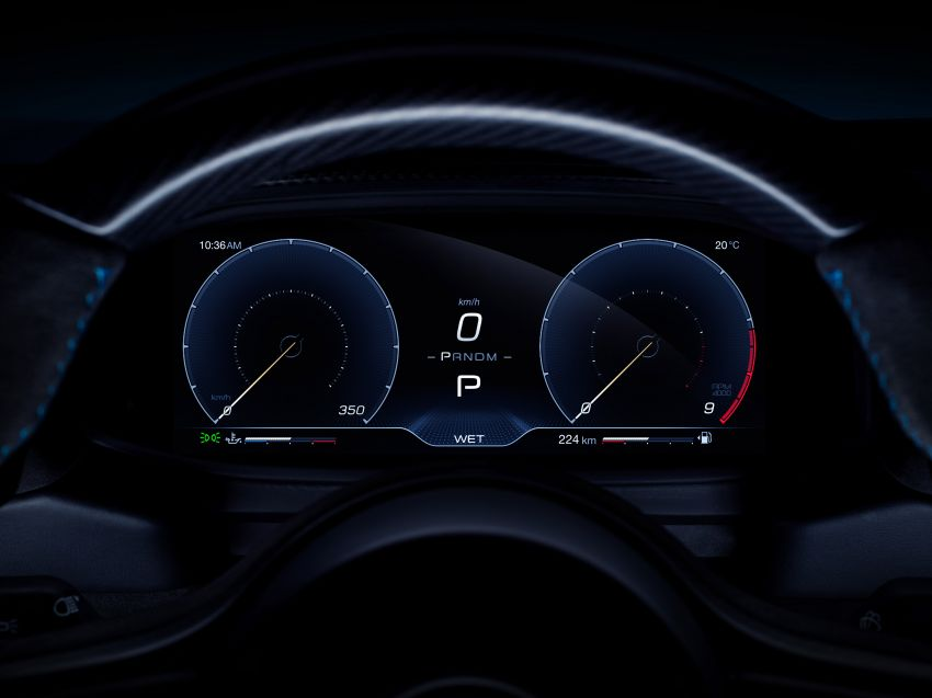 Maserati MC20 officially debuts – 3L twin-turbo V6 with 630 PS and 730 Nm; 0-100 km/h in under 2.9 seconds Image #1173937