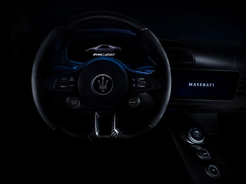 Maserati MC20 officially debuts – 3L twin-turbo V6 with 630 PS and 730 Nm; 0-100 km/h in under 2.9 seconds Image #1173938