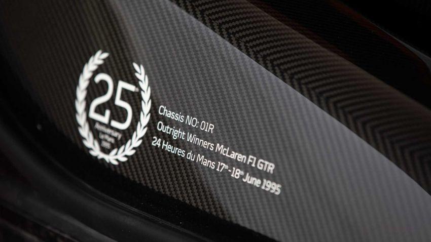 McLaren Senna LM – a special 5-unit nod to the F1 LM Image #1174108